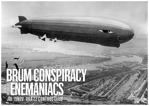 Brum Conspiracy live @ Control Club on Nov 19th, 10pm