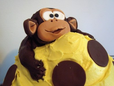 GIant Monkey Cupcake