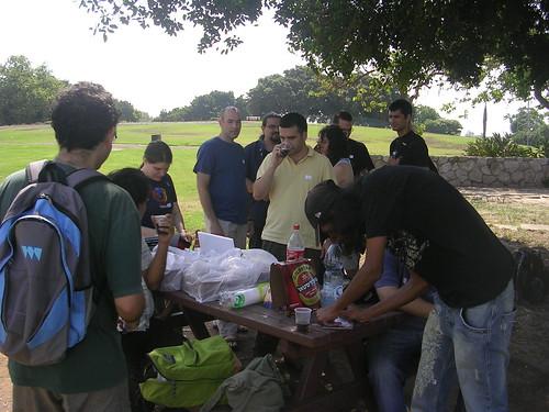 מפגש פיירפוקס בפארק הירקון