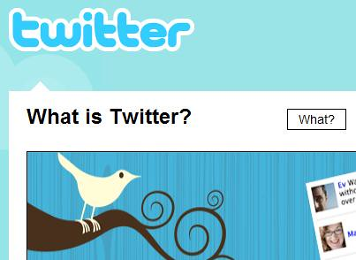 Twitter Home Page