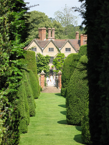 Packwood House, from Yew Garden