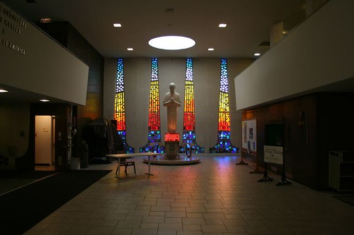 Saint John Bosco Church - main foyer