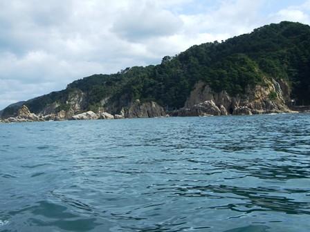 笹川流れ~舞子岩