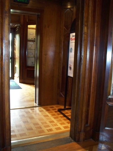 Elevator Converted to a Hallway
