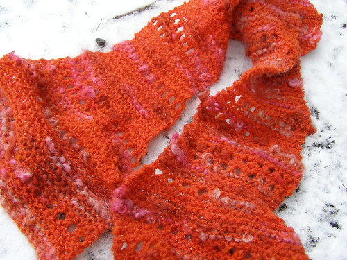 corriedale and locks scarf