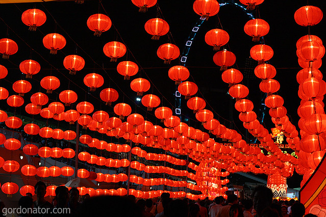 spent chinese new years eve around town immersing the festive spirit and taking some photos - Chinese New Year 2009