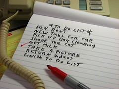 Day 092/366 - To Do List