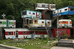 Redneck Condos by flamin'hemorrhoid