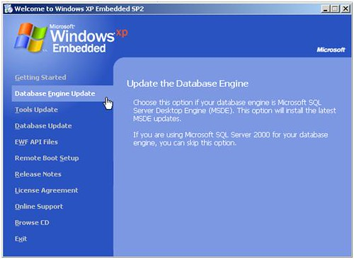 Preparing and Installing Windows XP Embedded Images – Part I