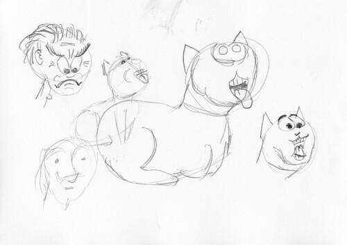 Kitty cartoon 002