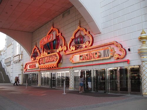 Trump Taj Mahal Casino entrance