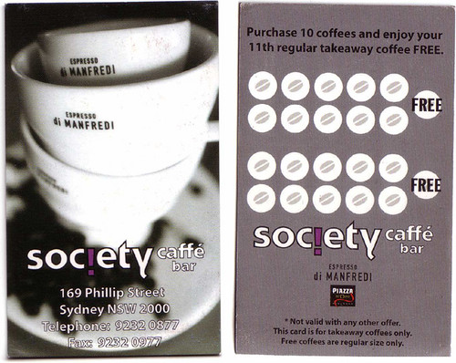 society caffe bar