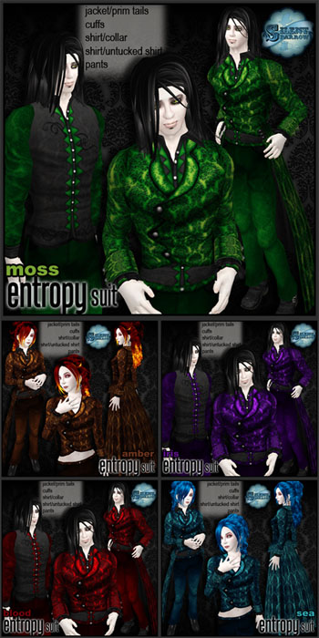 Entropy suit by ~silentsparrow~