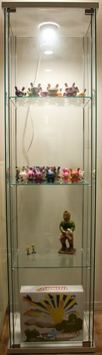 A collector's display