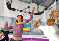 When Anna was working in Events at Languagelab, she used another avatar... but that its a long story.