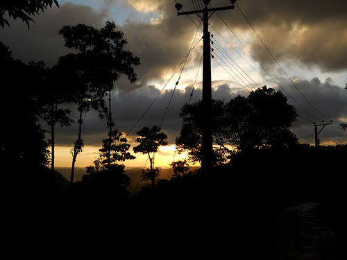 Mix up - Dark clouds and golden evening