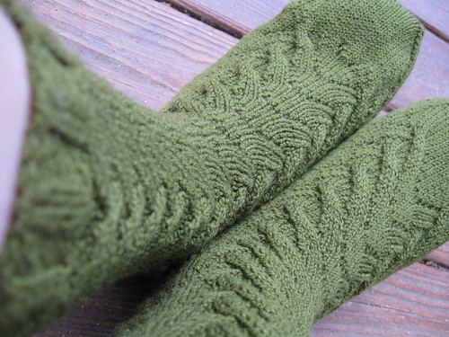 * I like these socks, nice pattern!