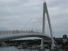 Bridge at Fisherman's Wharf in Danshui