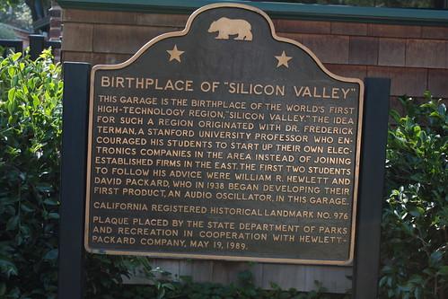 birghplace of silicon valley