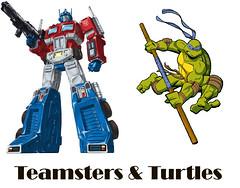 Teamsters and Turtles