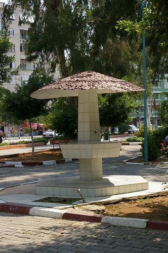 Handwashing station in Tarsas Park