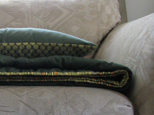 Quilt #3 and Pillow
