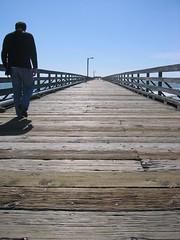 A walk on the Cayucos boardwalk