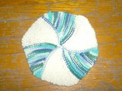 Pinwheel Dishcloth