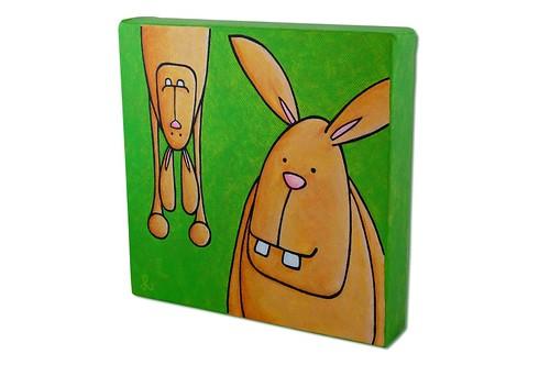 bunny high jinx - facing  left