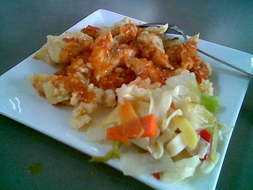Sibu's The Ark Thai-style crispy chicken