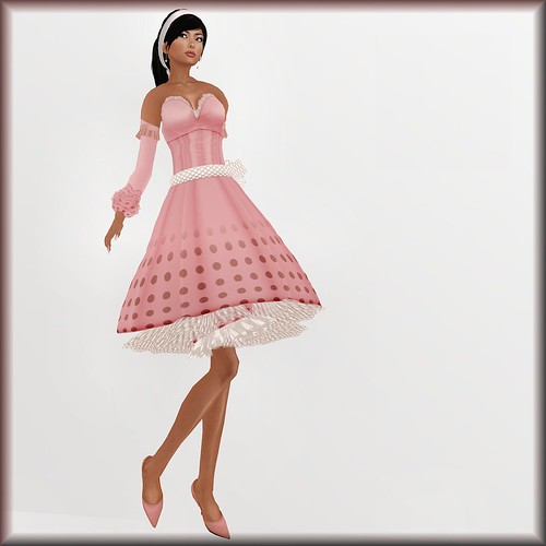 22769 CL Loft dress rosee 100L$_001 FINAL