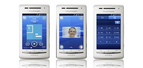 Sony Ericsson Xperia X8: Telefono Movil Tactil Android