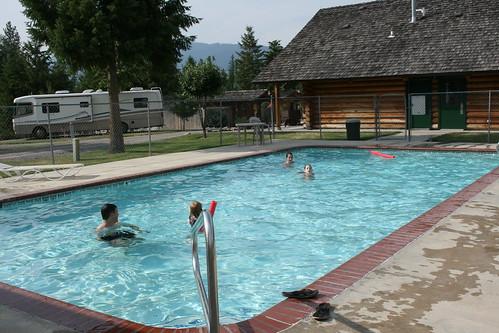 St. Regis Campground pool