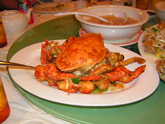 Dragon Court -- Crab and Lobster