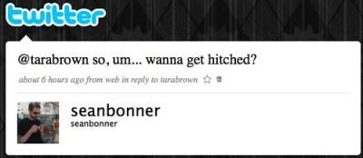 Twitter / seanbonner: @tarabrown so, um... wanna ...