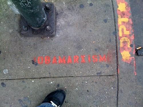 Street Art - Obamarxism?