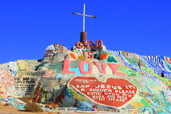 God is Love.  Salvation Mountain