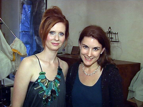 Me and Cynthia Nixon
