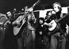 Mick Larie, Bill Clifton, Léon Francioli, Jean-Blaise Rochat, 1973