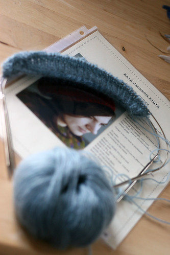 Poppy Beret in Blue