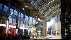 San Diego 當地的當代美術館緊連的小車站 (by Roca Chang)
