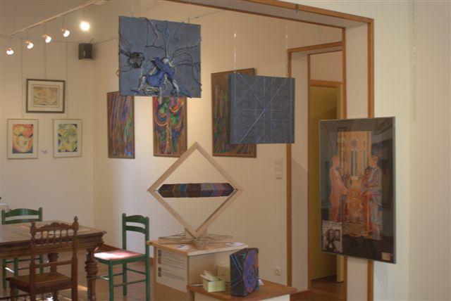 exposition d'art abstrait à la galerie l'Esquisse 3983
