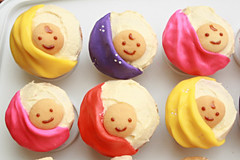 Sling Baby Cupcakes