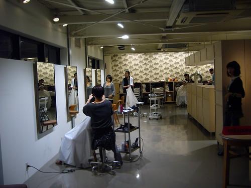 Hair salon in Nakameguro, Tokyo