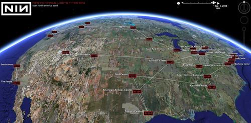 NIN @ Google Earth