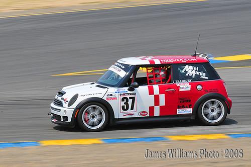 At speed, Infineon Raceway
