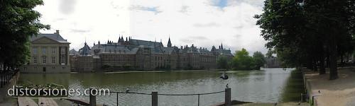 Binnenhof desde el Hofvijver