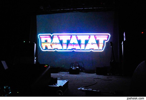 Ratatat @ Sonar