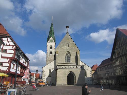 Saulgau Market Place