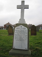 Captain Cooks Fathers Grave - St Germains Church